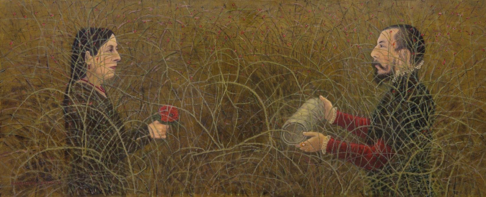 Hannelore Teutsch: Ohne viel Wind. Zu Cranach dem Jüngeren, 2015